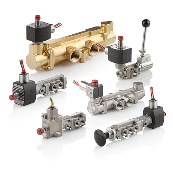 Stainless Steel Spool Valves Series 562 ASCO