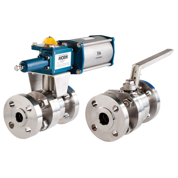 Series EB526/EB529/EB525 Floating Ball Valves