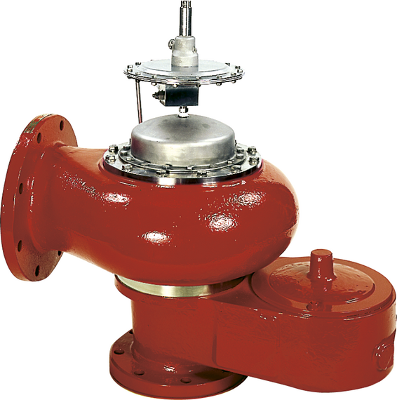 Marvac Model 920 Pilot Operated Pressure and Vacuum Relief - piped vent