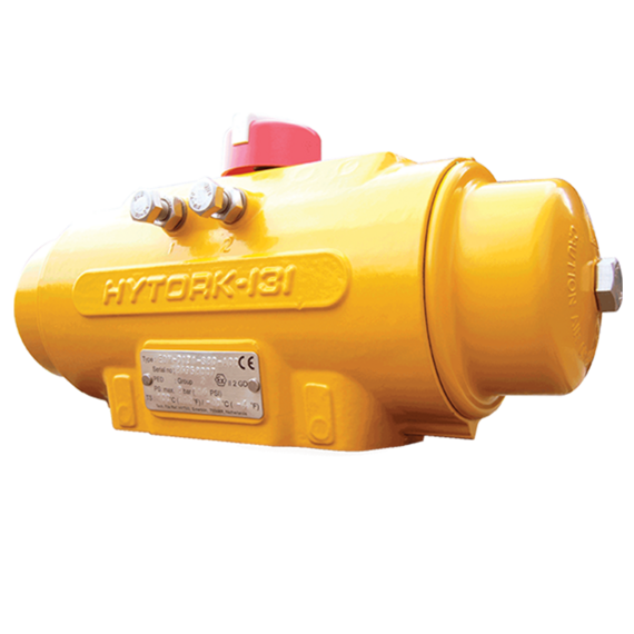 Hytork Excel (XL) Rack and Pinion Pneumatic Valve Actuator