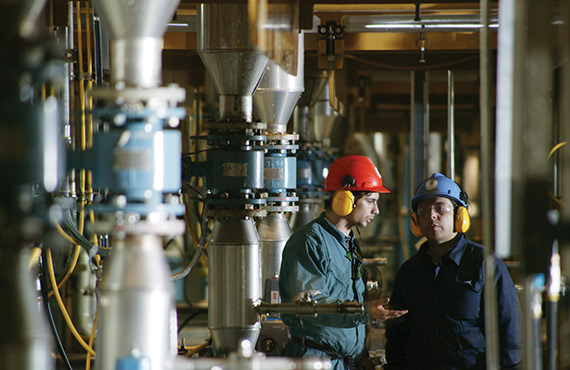 A large, integrated pulp and paper mill was experiencing excessive process alarms.