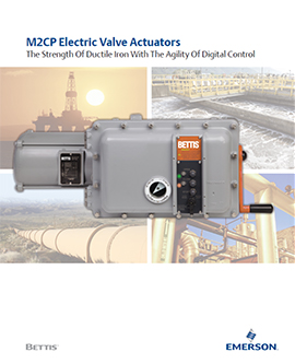 Bettis M2CP Electric Actuators Brochure